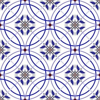 Padrão de azulejo vintage