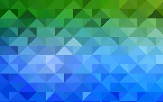 Padrão de baixo poli vector verde
