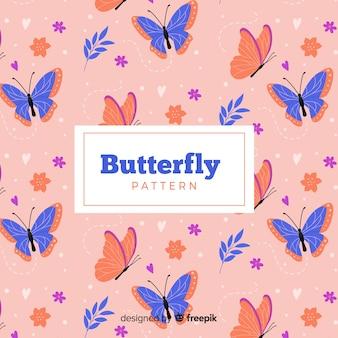 Padrão de borboleta