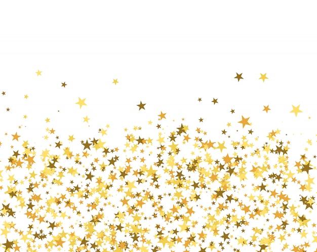 Padrão de brilho feito de estrelas