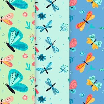 Padrão de bug colorido