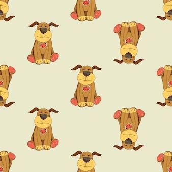 Padrão de cachorro
