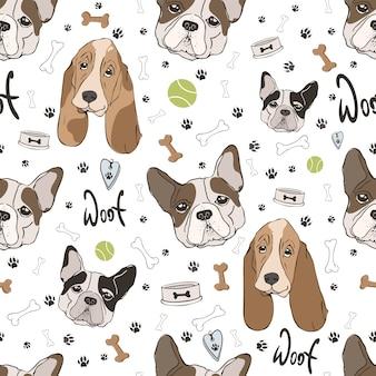 Padrão de cães