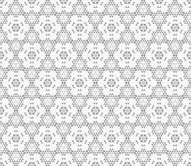 Padrão de caleidoscópio. impressão geométrica triângulo