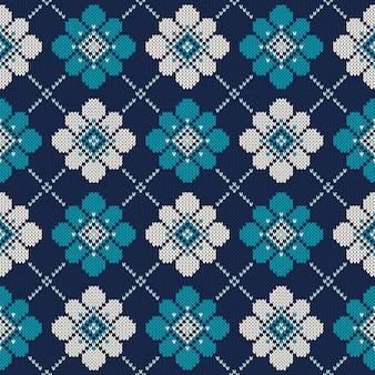 Padrão de camisola de malha. fundo transparente. imitação de textura de malha de lã