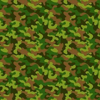 Padrão de camuflagem militar sem emenda do vetor. fundo abstrato do vetor sem costura