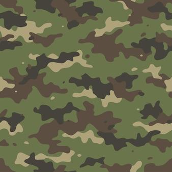 Padrão de camuflagem sem costura com malha de lona. camuflagem de estilo moderno, repetir a impressão.