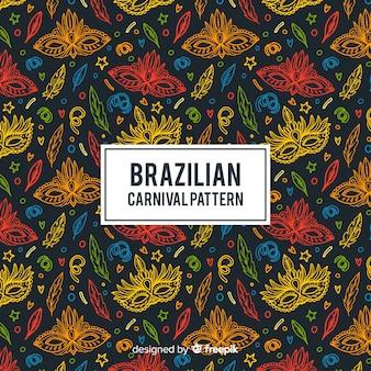 Padrão de carnaval brasileiro