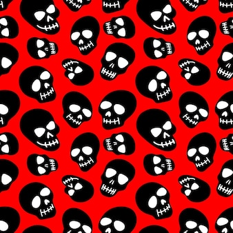 Padrão de caveira - dia dos mortos