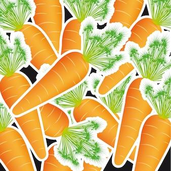 Padrão de cenoura