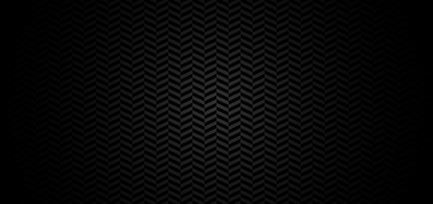 Padrão de chevron abstrato com fundo preto