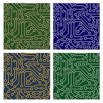 Padrão de circuito eletrônico