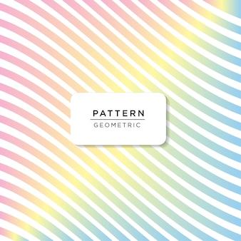 Padrão de cor do arco-íris