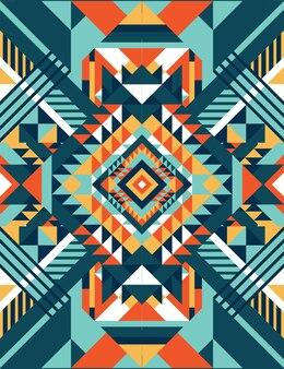 Padrão de cor quadrada