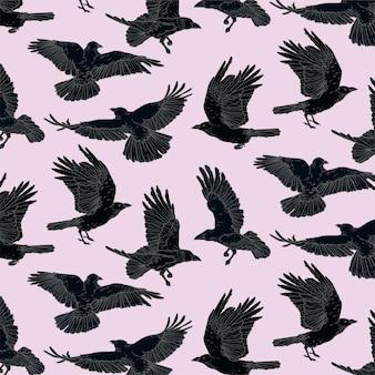 Padrão de corvo