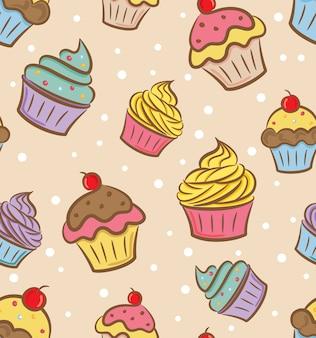Padrão de cupcake