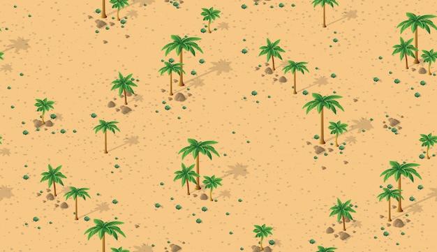 Padrão de deserto da floresta