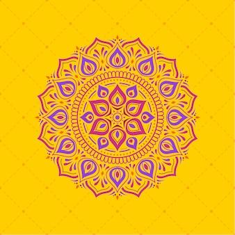 Padrão de design de fundo de diwali