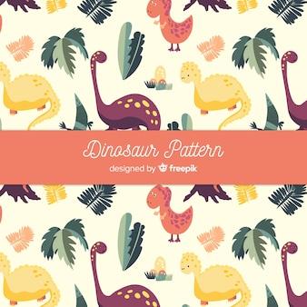 Padrão de dinossauro