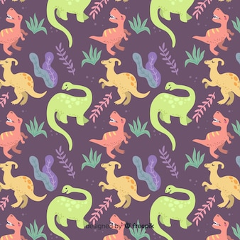 Padrão de dinossauros