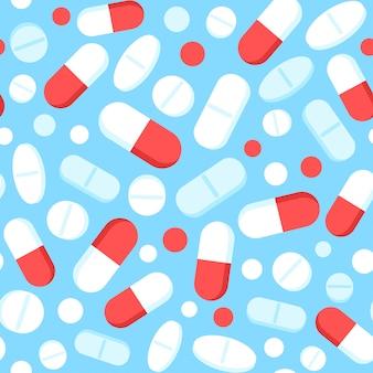 Padrão de drogas e pílulas