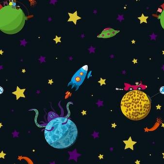 Padrão de espaço sem emenda