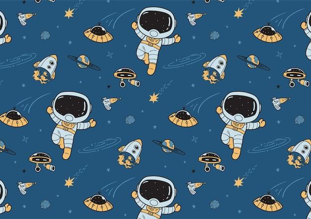 Padrão de espaço sideral legal