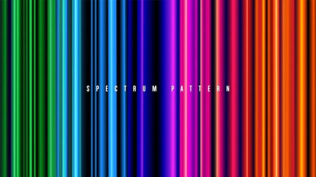 Padrão de espectro em vetor