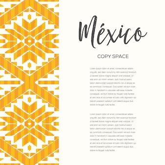 Padrão de estilo mexicano