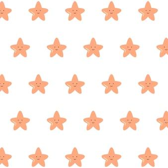 Padrão de estrela fofo