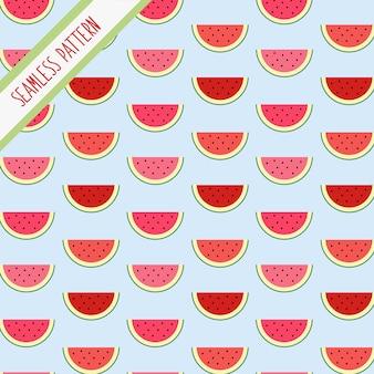 Padrão de fatias de melancia