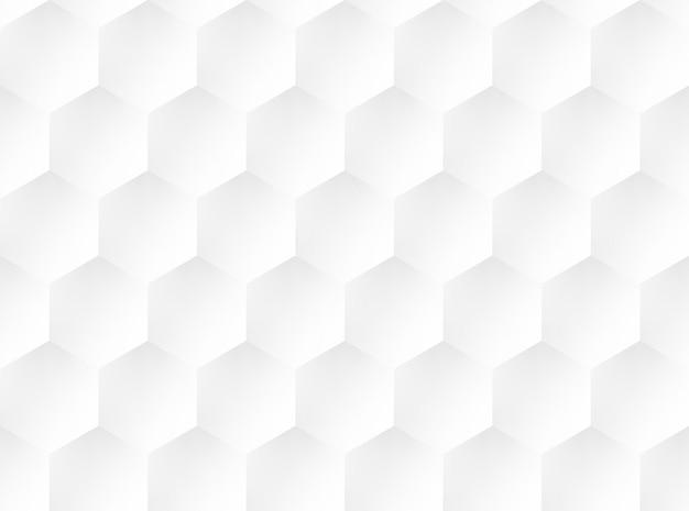 Padrão de favo de mel branco em relevo. plano de fundo da interface do usuário. ilustração vetorial