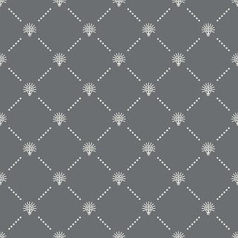 Padrão de fintech sem costura em um fundo escuro. design criativo do ícone fintech. pode ser usado para papel de parede, fundo de página da web, têxtil, impressão ui / ux