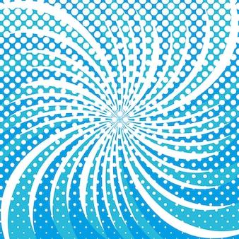 Padrão de formas redondas de estrela de floco de neve de inverno em meio-tom