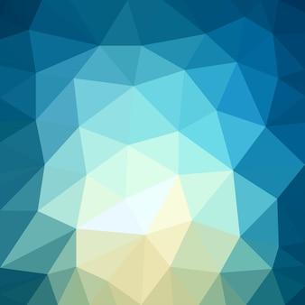 Padrão de fundo abstrata de forma triangular de baixo padrão azul claro