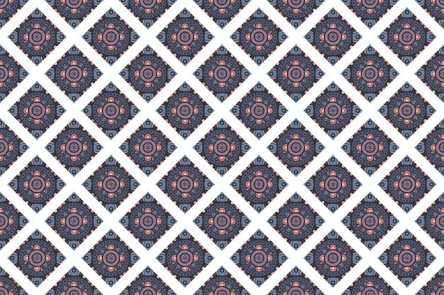 Padrão de fundo colorido geométrico sem costura
