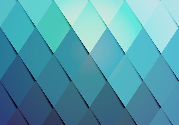 Padrão de fundo de cor moderno de negócios com um arranjo geométrico de diamantes graduados