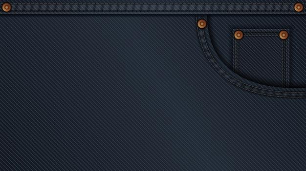 Padrão de fundo de tecido de calça jeans