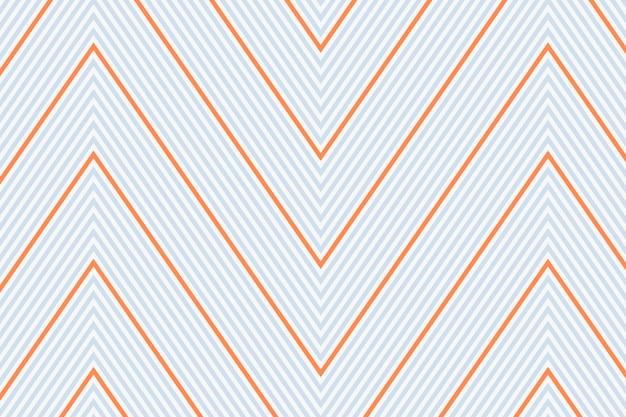 Padrão de fundo em divisa, zigue-zague cinza, vetor de design simples
