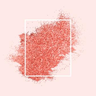 Padrão de glitter rosa