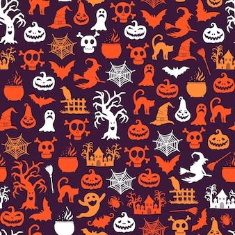 Padrão de halloween