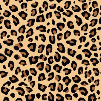 Padrão de impressão de leopardo sem emenda
