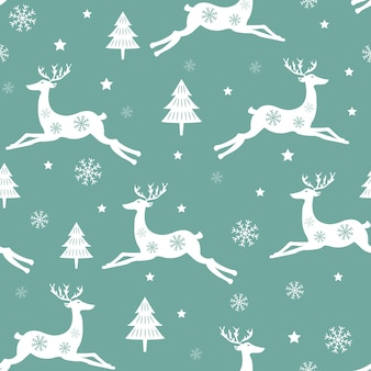 Padrão de inverno. padrão da época natalícia.