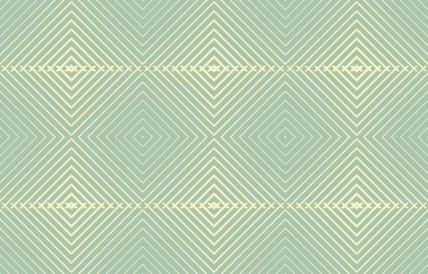 Padrão de linha sem costura com estilo geométrico
