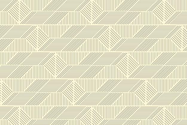 Padrão de linhas abstratas de design plano linear