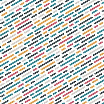 Padrão de linhas arredondadas abstratas