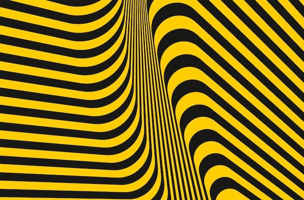 Padrão de linhas de listras amarelas e cinza escuro, estilo geométrico, textura design