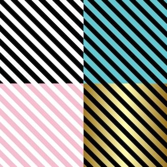 Padrão de linhas diagonais em fundo preto e branco.