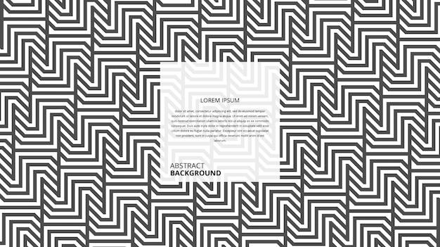 Padrão de linhas em zigue-zague decorativo abstrato