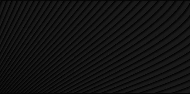 Padrão de linhas modernas ondas cinza escuro abstrato